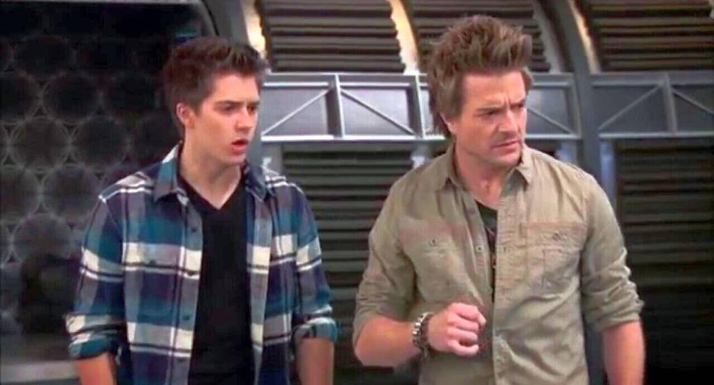 Lab rats adam laser eyes